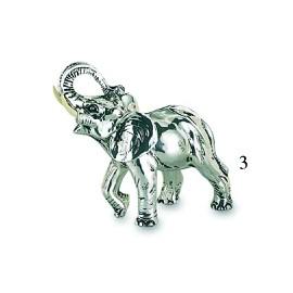 Elephant Coated Silver