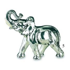 Elefante Ricoperto Argento