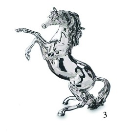 Horse Coated Silver