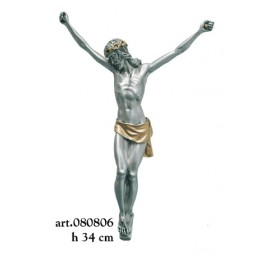 Coated Silver Crucifix