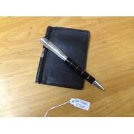 Card Holder with ball Pen Pierre Cardin