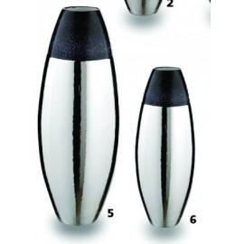 Vaso in Ceramica Argentata