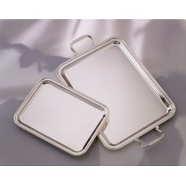 """Rectangular Tray """"Inglese"""" - With handles"""