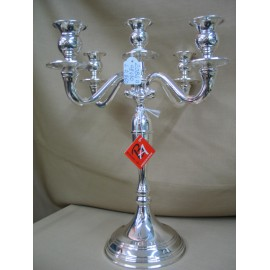 Sterling Silver Candelabra 5 lights