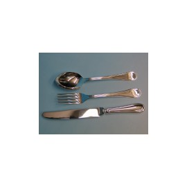 """Set 18 pieces Table Cutlery """"Inglese"""" light"""