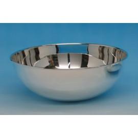 """Silver Bowl """" Globe """""""