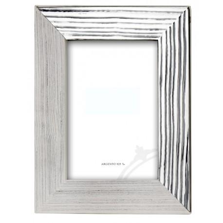 "Silver Frame ""Wood"""