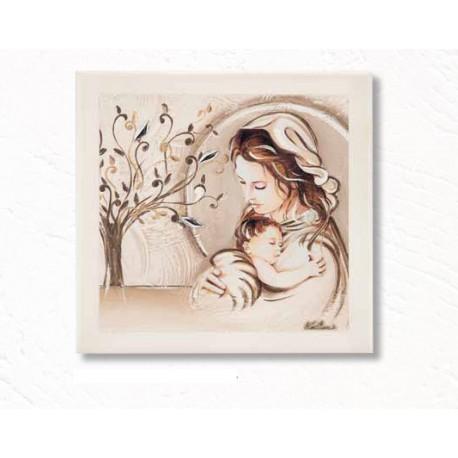 Capezzale Madonna con Bambino e Albero della Vita
