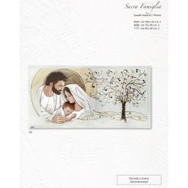Capezzale Sacra Famiglia con Albero della Vita