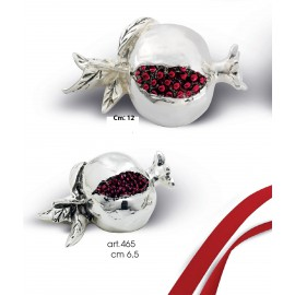 Pomegranate Coated Silver