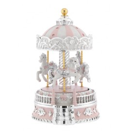 Carousel with music box