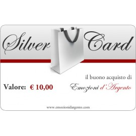 Silver Card del valore di € 10,00