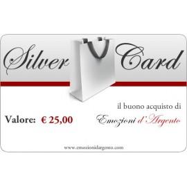 Silver Card del valore di € 25,00