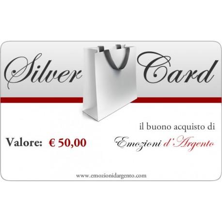 Silver Card del valore di € 50,00