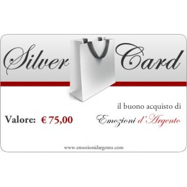 Silver Card del valore di € 75,00