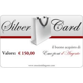 Silver Card del valore di € 150,00