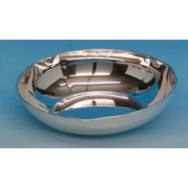 Triangular Silver Bowl