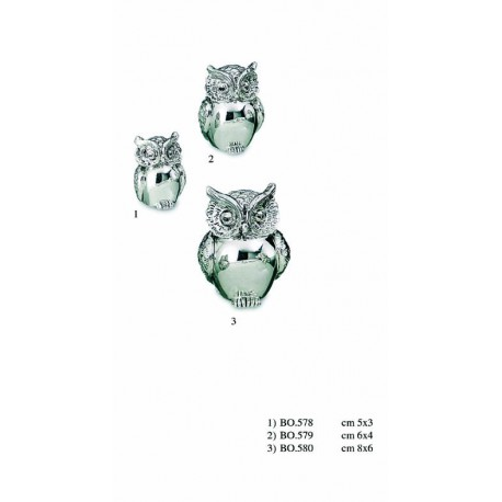 Owl Coated Silver