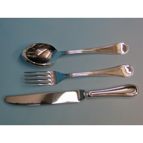 "Set 77 pieces Table Cutlery ""Inglese"" light"